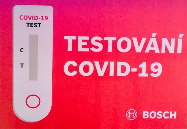 testování Covid - logo