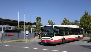 autobus před Bosch